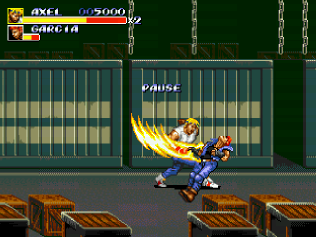 Streets of Rage 3 Enhance Mod - Take that and that! - User Screenshot